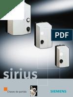 Catálogo Chaves de Partida SIRIUS 3RE