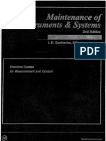 Maintenance of Instruments & Systems