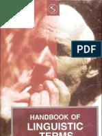The Handbook of Linguistics Terms