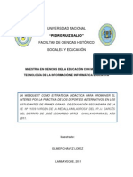 Proyecto de inv. de tesis