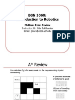 Robotics Midterm Review