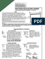 AccuScreen Projector Screen