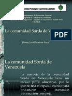 Comunidad Sorda de Venezuela