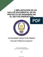 Implementacion de Gestion Docu en Proyecto