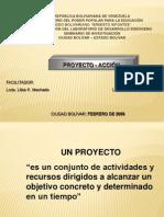 taller de proyecto acción