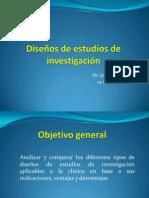 Diseño de estudios de investigación1