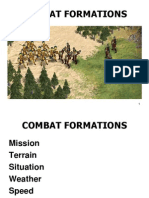 Combat Formations - Lesson Plan
