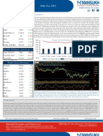 Weekly Market Outlook 31 October 2011-Mansukh Investment and Trading