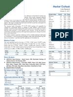 Market Outlook 31st October 2011