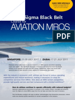 Lean Six Sigma Aviation MROs Nadeem MBB