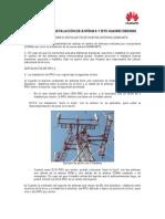 ALCANCES DE INSTALACIÓN DE ANTENAS Y BTS HUAWEI DBS3900