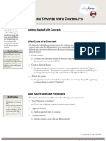 Sales Force Contracts Cheatsheet