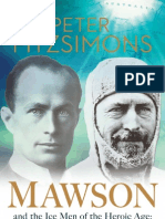 Mawson by Peter FitzSimons Sample Chapter