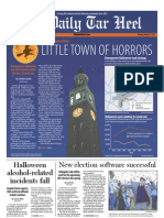 The Daily Tar Heel for October 31, 2011