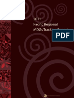 2011 Pacific Regional MDGs Tracking Report