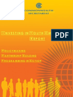 Investing in Youth Employment Report