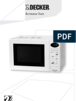 Black and Decker Microwave Oven