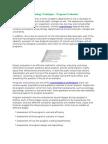 Psychology Techniques - Program Evaluation