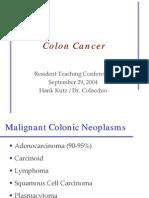 9.29.04 - Colon Cancer