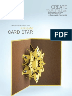 BeadCharm_KirigamiCardStar