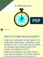 Time Management - TALK