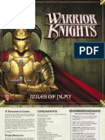 Warrior Knights - Rules