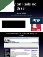 Ruby on Rails No Brasil
