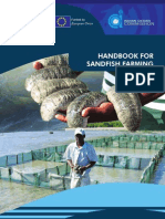 Handbook Book for Sandfish Farming