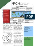 Biotope Research - SE Asian Mangrove Estuary