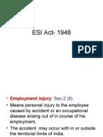 ESI Act- 1948 -2