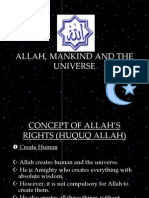 4. Allah, Mankind and the Universe (1)