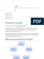 What is Prayer