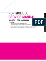 Lg Pdp Module Pdp50g1 Service Manual