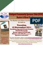 Stuttgart Community Spouses' Club ~ Basket & Silent Auction