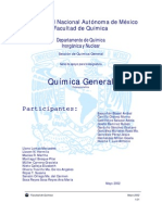 UNAM - Facultad de Química - Química General - Estequiometría II