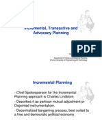 Incremental Trans Active Advocacy Planning