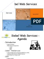 Siebel Web Services