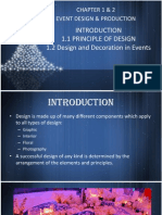 Chapter 1 & 2- Principle of Design