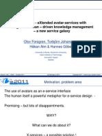 eChallenges_e2011_x-Services - HA Comments