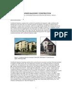 Confined Masonry Construction