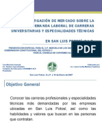 Demanda laboral en San Luis Potosí