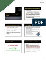 C. IDS (Intrusion Detection System) - FINAL