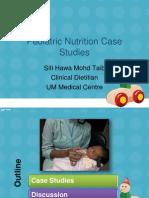 Pediatric Nutrition Case Studies