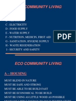 ECO COMMUNITY LIVING - DOMES