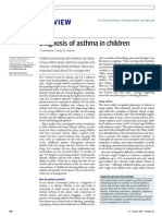 Diagnosis Asthma in Children
