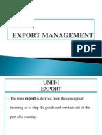 PPT Export Management
