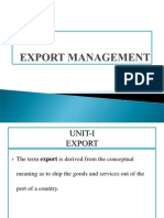 PPT Export Management