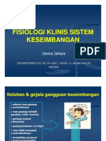 Sss155 Slide Fisiologi Klinis Sistem Keseimbangan