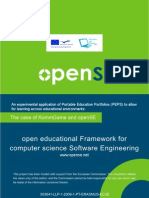 An experimental application of Portable Education Portfolios (PEPS) to allow for learning across educational environments