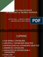 COMUNICAREA EFICIENTĂ - POWER POINT